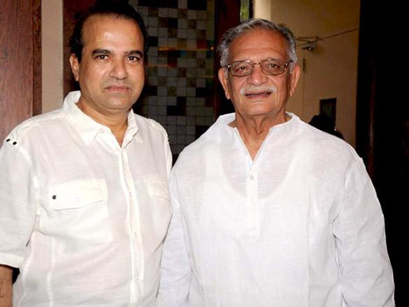 Gulzar, Vishal Bhardwaj and Suresh Wadkar at 'Barse Barse' album launch