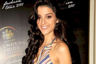 Photo Of Giselle Monteiro From The Blenders Pride Fashion Tour 2011 announcement