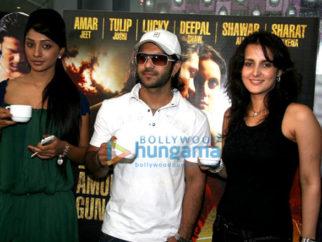 Photo Of Deepal Shaw,Amarjeet Shukla,Tulip Joshi From The Tulip,Deepal And Amarjeet At Runway Tea Party