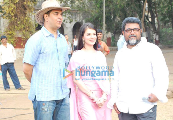 Photo Of Ashu Trikha,Urvashi Sharma,Abbas Ali Moghul From The Urvashi Sharma Shoots For Baabarr