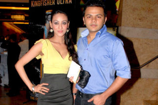 Photo Of Vedita Pratap Singh,Gaurav Parikh From The Samir Sagar and Hiren Sagar of Manubhai Jewellers show at IIJW 2011