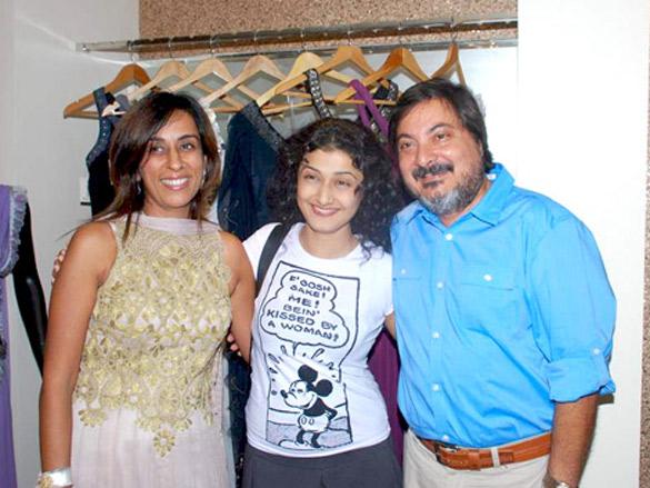 Celebs at Hauz Khaz's store