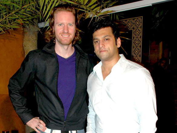 Ajay Devgn at Ali Reza Khan's 'Sheesha Sky Lounge Gold's' launch