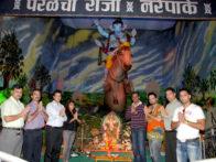 Photo Of Upanga Dutta,Dolly Sidhu,Siddarth Kannan,Swaroop,Rahul Mohan,Prashant Shirsat From The Prashant Shirsat celebrates Ganesh Utsav at Parel Cha Raja