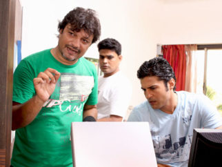 On The Sets Of The Film Soundtrack Featuring Rajeev Khandelwal,Soha Ali Khan,Mrinalini Sharma,Mohan Kapoor,Yatin Karyekar,Ankur Tewari,Anurag Kashyap,Siddharath Coutto,Manu Rishi