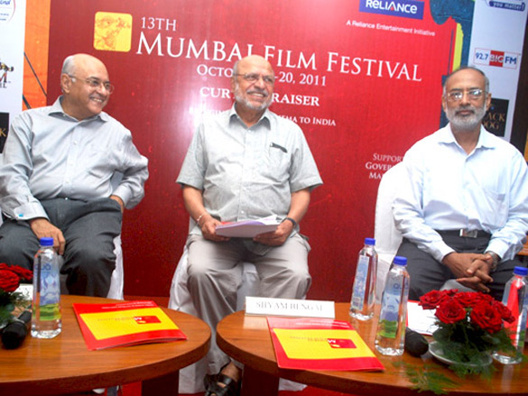 Press conference of 13th Mumbai Film Festival
