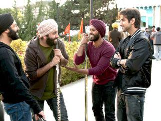 Movie Still From The Film Speedy Singhs,Vinay Virmani