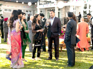Movie Still From The Film Speedy Singhs,Russell Peters