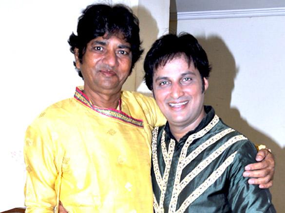 Sandeep Mahavir and Pandit Chand Girdhar Chand perform a classical dance