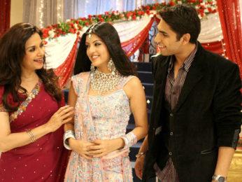 Movie Still From The Film Na Jaane Kabse..,Garry Gill,Amrita Prakash,Lilette Dubey