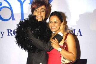 Photo Of Rohhit Verma,Nandini Jumani From The Rohhit Verma's birthday bash with fashion show 'Hare'