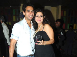 Photo Of Karan Mehra,Tanaz Irani From The Tannaz Irani's surprise birthday party for Bakhtiyaar Irani