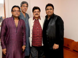 Photo Of Deepak Pandit,Ghanshyam Vaswani,Ashok Pandit,Tauseef Akhtar From The Musical tribute to Jagjit Singh