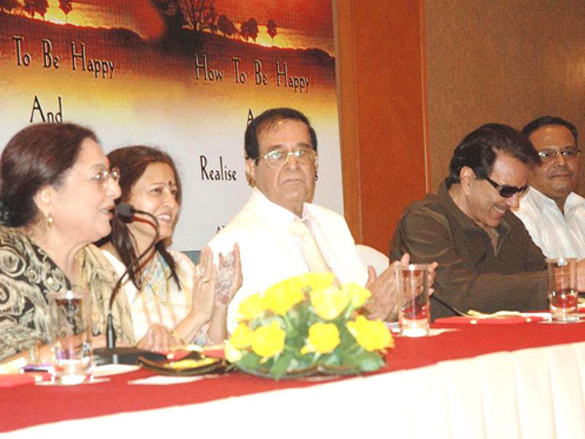 Photo Of Tabassum,Ashok Hingorani,Dharmendra From The Dharmendra launches Ashok Hingorani's book