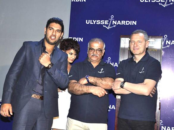 Yuvraj Singh appointed as Ulysse Nardin watch brand ambassador