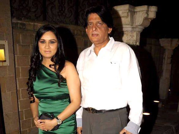 Photo Of Padmini Kolhapure,Tutu Sharma From The Celebs at Anil Kapoor's birthday bash