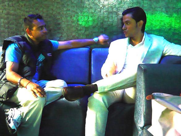On The Sets Of The Film Blood Money Featuring Vishal Mahadkar,Kunal Khemu