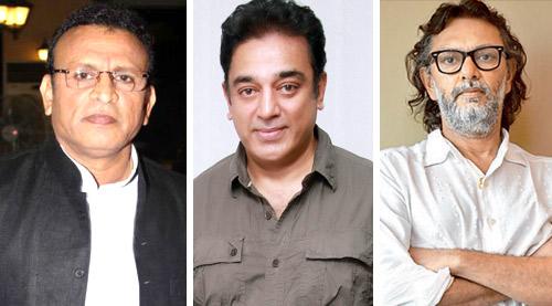 Annu Kapoor,Kamal Hassan,Rakesyh Omprakash Mehra
