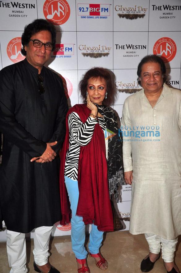 Talat Aziz, Chitra Singh, Anup Jalota