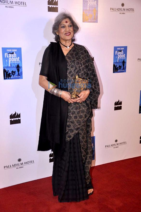 Launch of Fahad Samar's book 'Flash Point' at Palladium