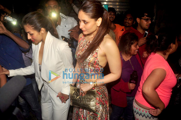 Kareena Kapoor Khan, Karan Johar & Jacqueline Fernandez at Zoya Akhtar's get-together