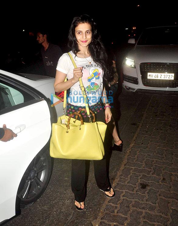 Ameesha Patel snapped in Bandra