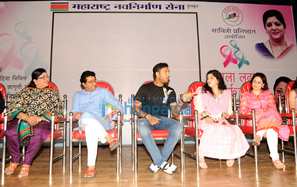 Celebs support 'Fight Against Cancer' drive