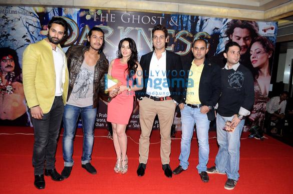 Keeya Khanna & Mukesh Rishi at 'The Ghost And Darkness' music launch