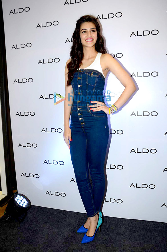Kriti Sanon visits Aldo showroom