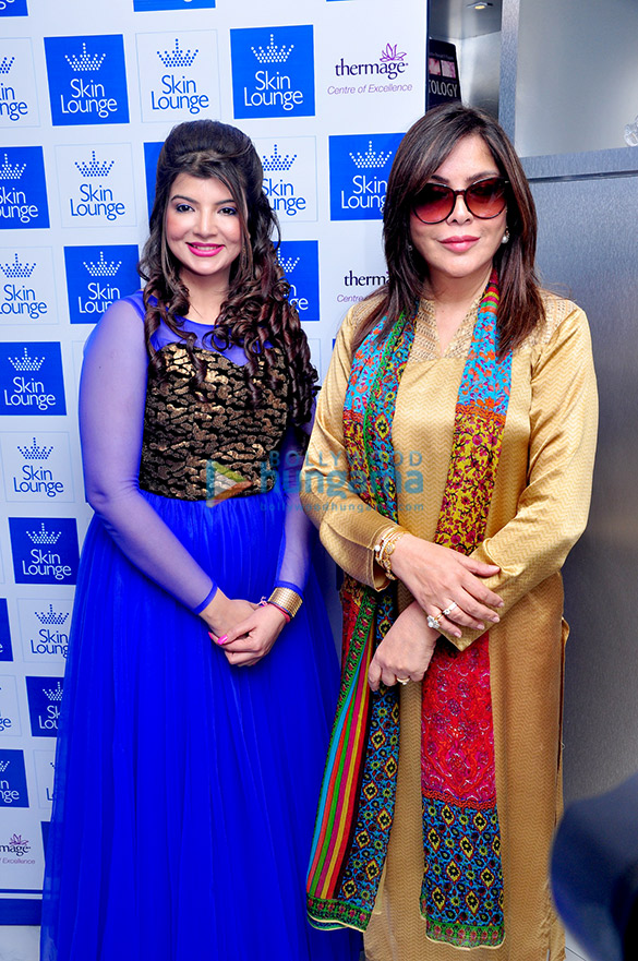 Zeenat Aman inaugurates Dr. Simple Aher's Skin Lounge clinic