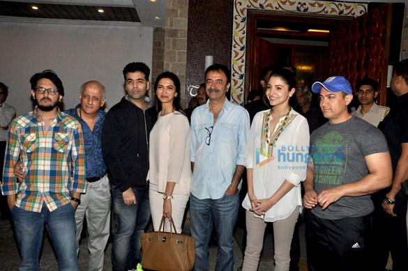 Vishesh Bhatt, Mukesh Bhatt, Karan Johar, Deepika Padukone, Rajkumar Hirani, Anushka Sharma, Aamir Khan