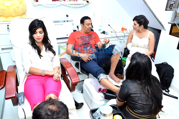 Celebs grace the launch of Shraddha Sagaonkar's Shuddha Salon & Spa