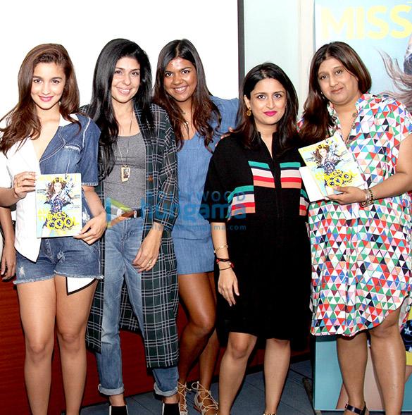 Alia Bhatt, Anaita Shroff Adajania, Priyanka Kapadia, Priyanka Khanna, Priya Tanna
