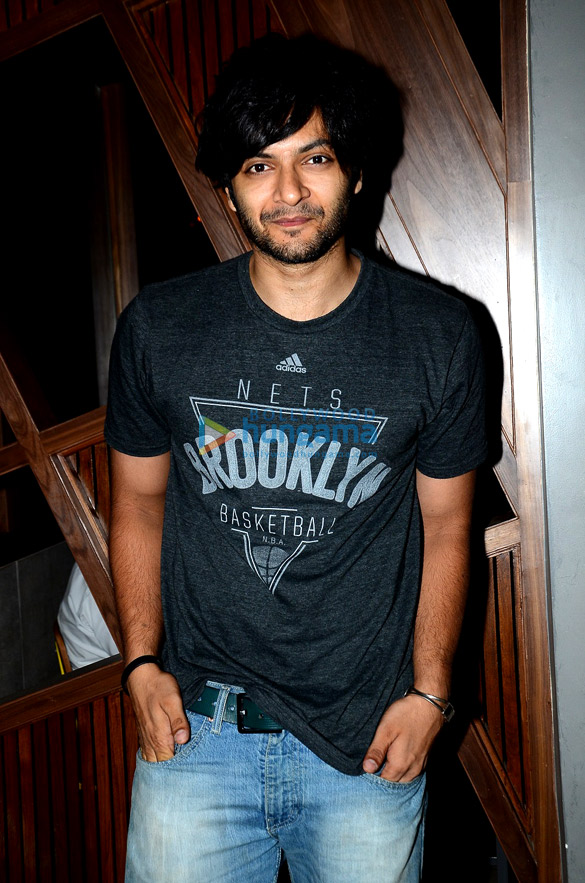 Ali Fazal at the launch of The Beer Cafe in Mahim