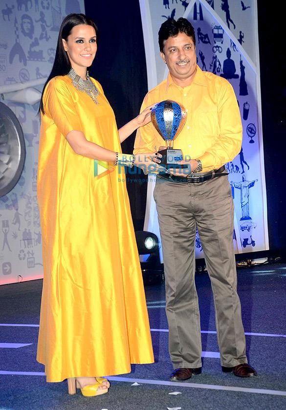 Jacqueline Fernandez & Neha Dhupia at Lonely Planet Travel Awards 2015