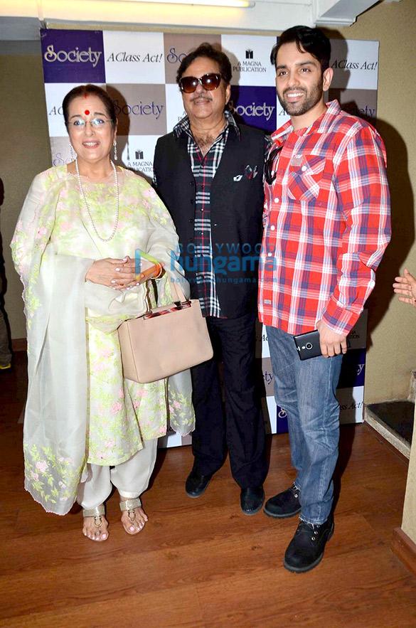 Poonam Sinha, Shatrughan Sinha, Luv Sinha
