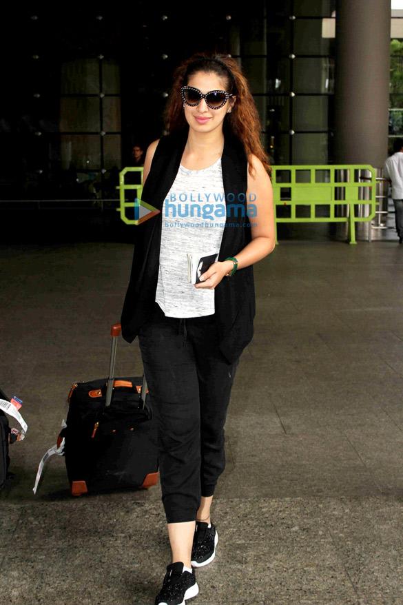 Raai Laxmi snapped at the airport