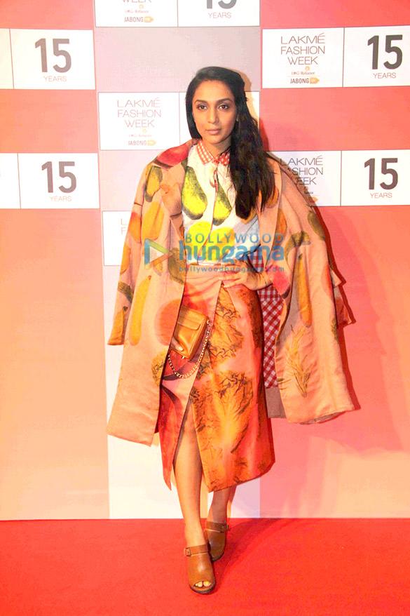 Soha Ali Khan, Swara Bhaskar & Kunal Kapoor at LFW 2015 curtain raiser