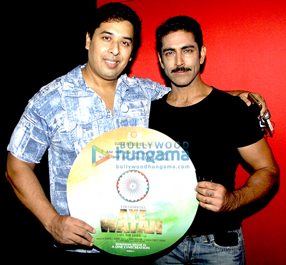 J P Dutta launches the first look & music of the film 'Aye Watan'