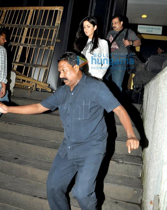 Katrina Kaif snapped outside Royalty in Bandra