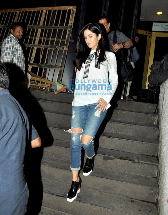 Katrina Kaif snapped outside Royalty in Bandra