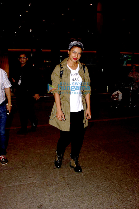 Priyanka Chopra returns after shooting for Quantico in LA