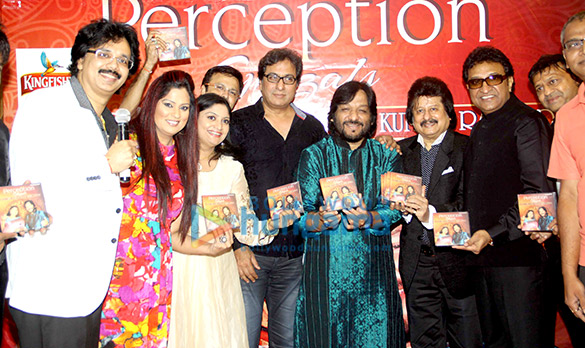 Launch of Ritu Johri's ghazal album 'Perception'