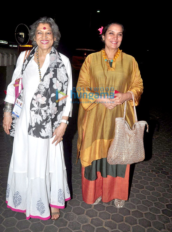 Dolly Thakore, Shabana Azmi