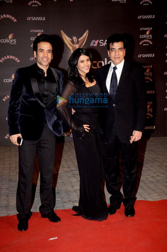 Tusshar Kapoor, Ekta Kapoor, Jeetendra