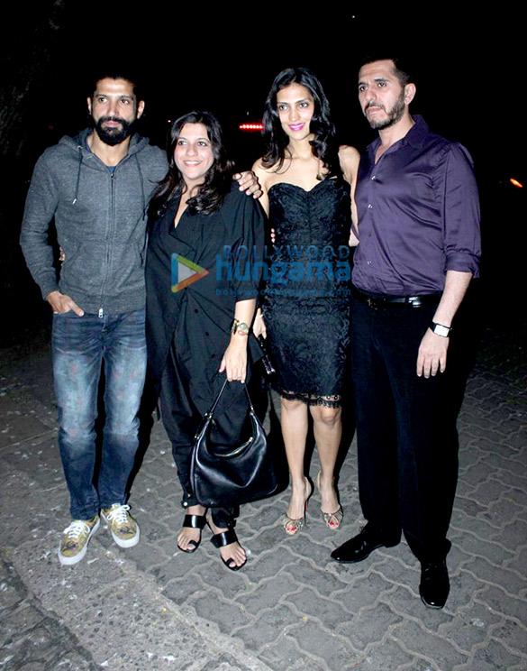 Farhan Akhtar, Zoya Akhtar, Dolly Sidhwani, Ritesh Sidhwani