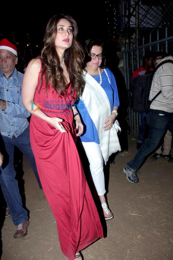 Kareena Kapoor Khan, Karisma Kapoor, Amrita Arora & Malaika Arora Khan snapped during Christmas mass