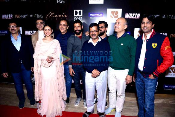 Abhijat Joshi, Aditi Rao Hydari, Vidhu Vinod Chopra, Farhan Akhtar, Arvind Kejriwal, Bejoy Nambiar