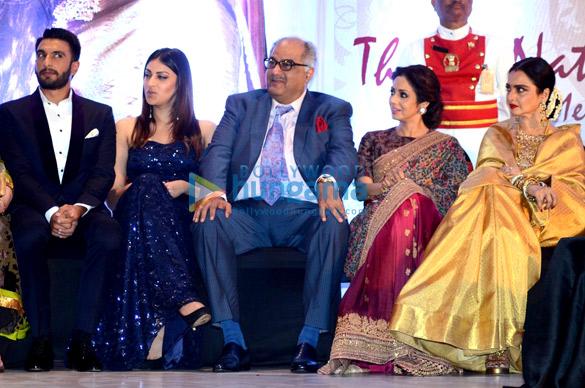 Ranveer Singh, Anushka Ranjan, Boney Kapoor, Sridevi, Rekha