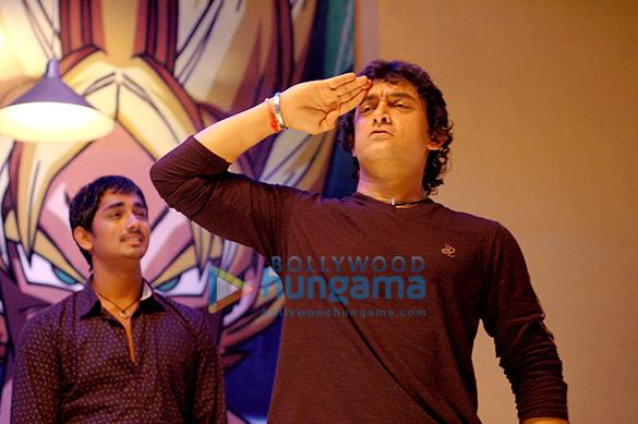 Siddharth, Aamir Khan